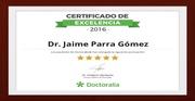 Certificado de Excelencia en Doctoralia